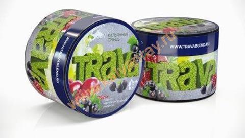 Кальянная смесь Trava - Гранат, Черная смородина, Лимонад
