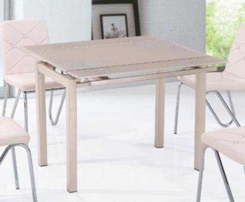 Стол стеклянный раздвижной кухонный ТВ017-10