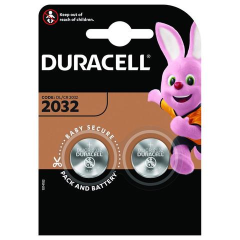 Батарейки Duracell Specialty 2032 (2 штуки в упаковке)