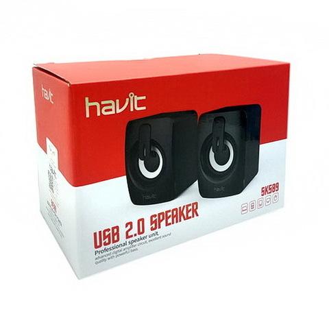 Колонки компьютерные HAVIT HV-SK589 USB black