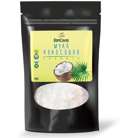 Мука кокосовая BONCOCOS, органическая, Шри-Ланка, 500 г