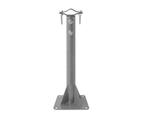 Кронштейн телескопический для мачт 50/90 площадка 170*170 КТМ50-90