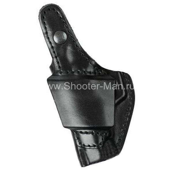 Кобура кожаная для пистолета Гроза - 04 поясная ( модель № 8 )