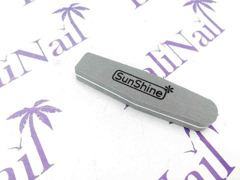 Пилка-баф малый SunShine 100/180 серый, ромб