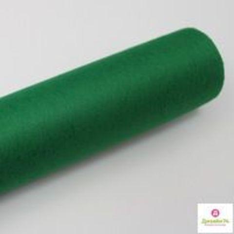 Фетр флористический (50см*12м) Китай цвет Зелёный №054