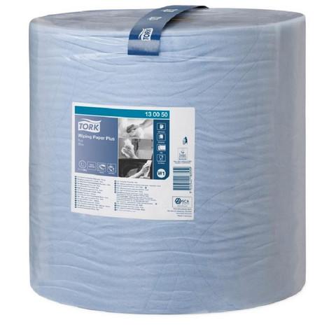 Протирочная бумага Tork 130050 W1 голубая (510 метров в рулоне)