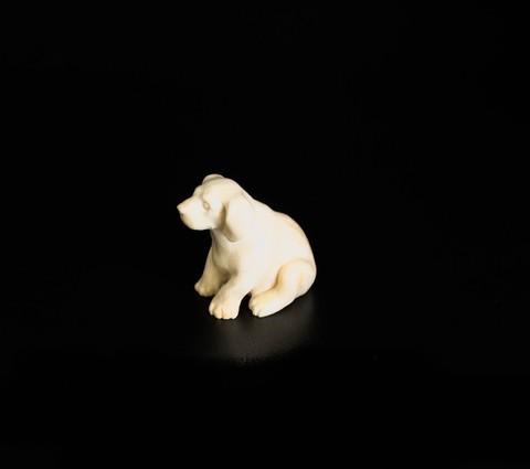 Скульптура из бивня мамонта «Пёс»