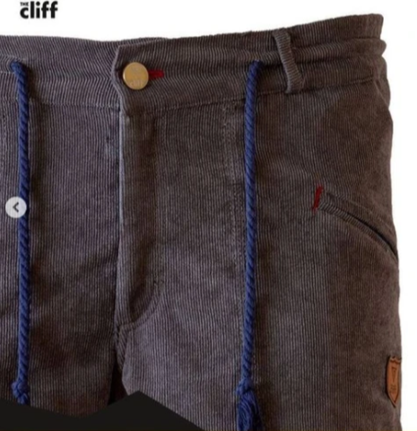 Брюки для скалолазания Hi-Gears The Cliff Corduroy Pants gray (серые)