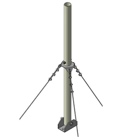 Мачта трубостойка алюминиевая  RADIAL MA-3R