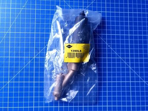 MESTO Вентиль-пистолет 1390LS, латунный, под спиральный шланг