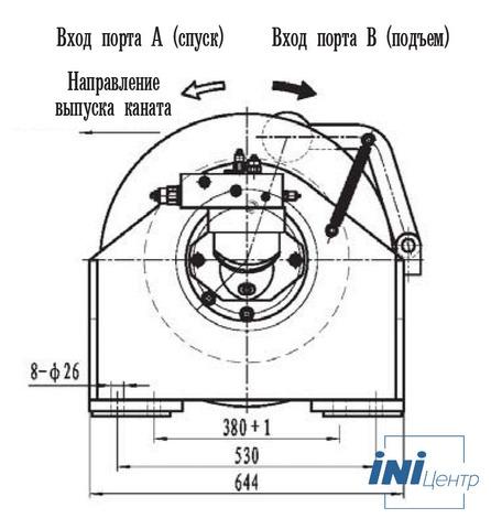 Стандартная лебедка IYJ344-60-178-18-ZPG