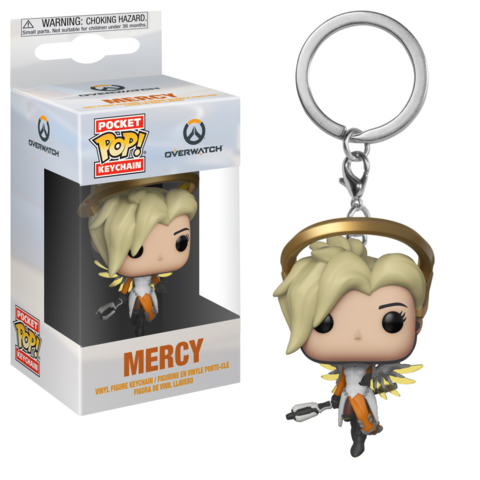 Брелок Ангел || POP! Keychain Overwatch Mercy
