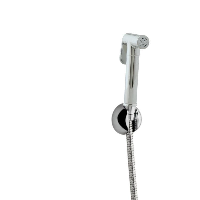 Набор для гигиенического душа, без крана (гигиенический душ, кронштейн, шланг 1,2 м) TITANIUM 115202WC