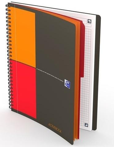 Бизнес-тетрадь International ActiveBook B5 (19.7*25см) клетка 80л пластиковая обложка