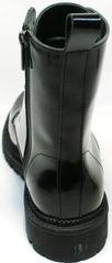 Ботинки по типу мартинсов черные женские зимние Ari Andano 740 All Black.