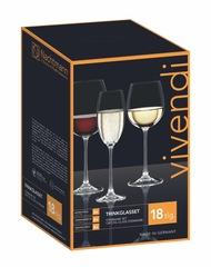 Набор из 18-и бокалов для вина