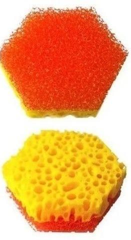 Губки для мытья посуды в вакуумной упаковке