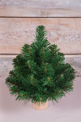 Искусственная елка Норвежская 30 см зеленая