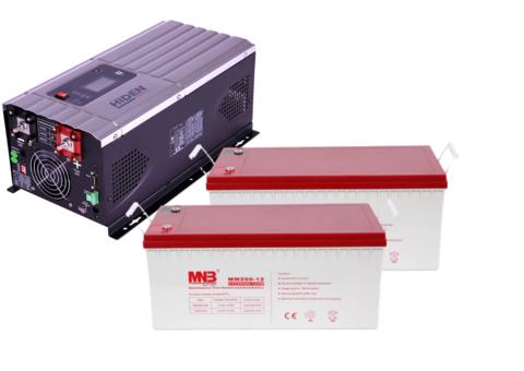 Комплект ИБП HPS30-3024-АКБ MM200 (24в, 3000Вт)