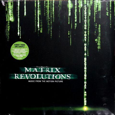 Виниловая пластинка. The Matrix Revolutions (Music From The Motion Picture)