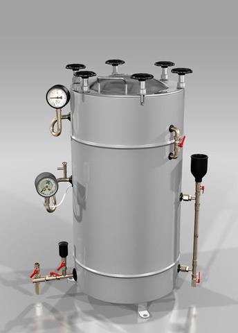 Установка для обеззараживания медицинских отходов СМО-75