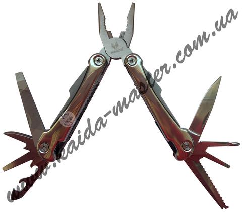 Многофункциональный нож-плоскогубцы с набором инструментов