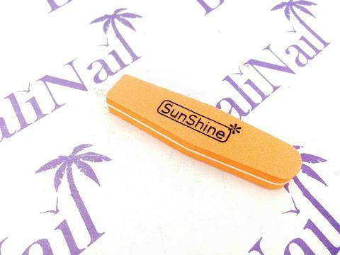 Пилка-баф малый SunShine 100/180 оранжевый, ромб
