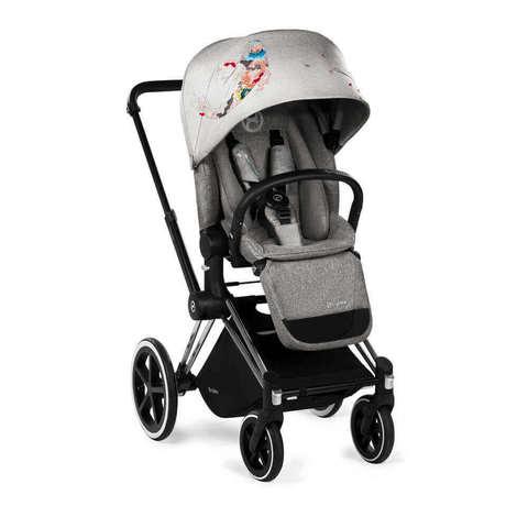 Прогулочная коляска Cybex Priam Lux Koi шасси Chrome/Trekking