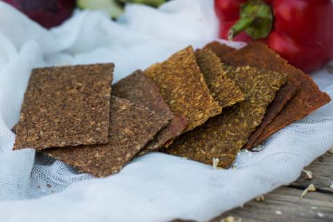 Хлебцы MIX (Нори, Луковые, Цуккини) 100 грамм