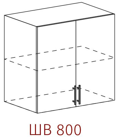 Шкаф верхний 800