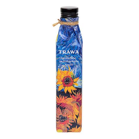 TRAWA, Масло подсолнечное ароматное из обжаренных семян, 250мл