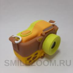 Фотоаппарат детский со вспышкой SmileZoom Жираф 32 Мп с Wi-Fi