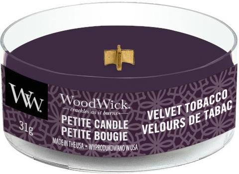 Аромасвеча WoodWick Пряный табак 31 гр