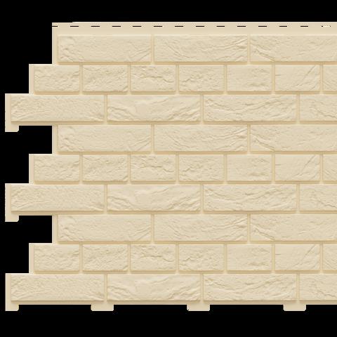 Фасадная панель Доломит под кирпич Славянка Шампань
