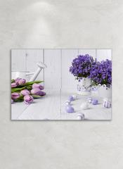 Картина на стекле Сиреневое вдохновение 1, 28х40 см