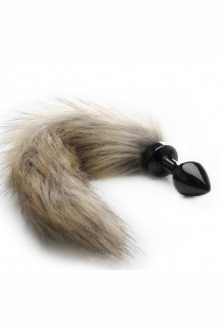 Анальная пробка с хвостом Fox Tail Buttplug (Small)