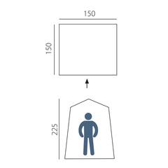 Походный душ-туалет Arten Solo - 2