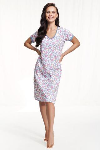 Сорочка женская с v-образным вырезом LUNA 131
