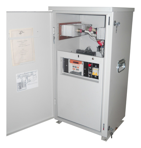 Automatic cathodic protection rectifier UKZT-AU OPE TM-GSM 3,0 Y1 with telemechanics controller