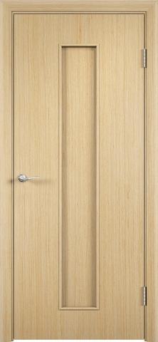 Дверь Верда С-21, цвет беленый дуб, глухая