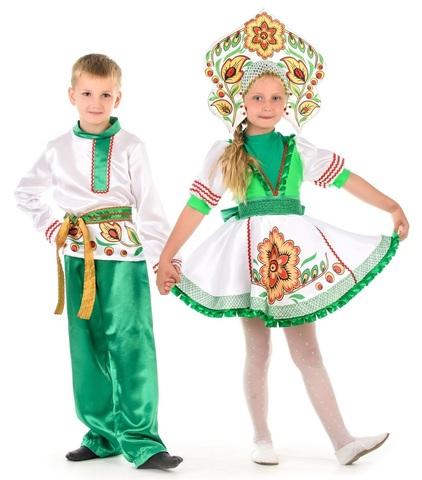 Русский народный костюм Журавушка 2