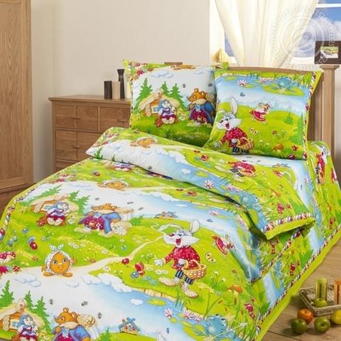Комплект постельного белья В гостях у сказки Бязь 150см