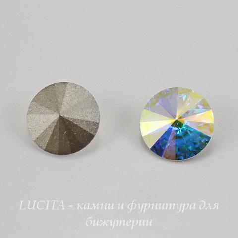 1122 Rivoli Ювелирные стразы Сваровски Crystal AB (12 мм) (Картинка)