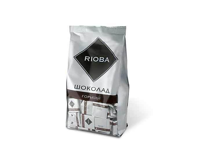 Горький шоколад 72% Rioba, 800 г