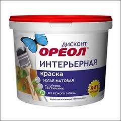 Краска в/д интерьерная ЭМПИЛС Ореол ДИСКОНТ (Белый матовый)