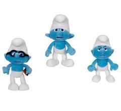 The Smurfs Movie Plush Series 01 - Set of 3