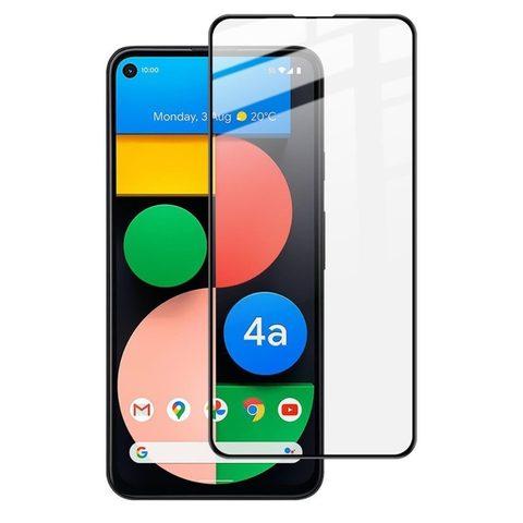 Защитное стекло 2.5d для Google Pixel 4a 5G (Black / Черное)