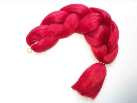 Канекалон A02 (красный)