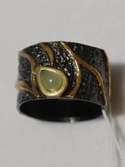Тейма-нефрит(кольцо из серебра)
