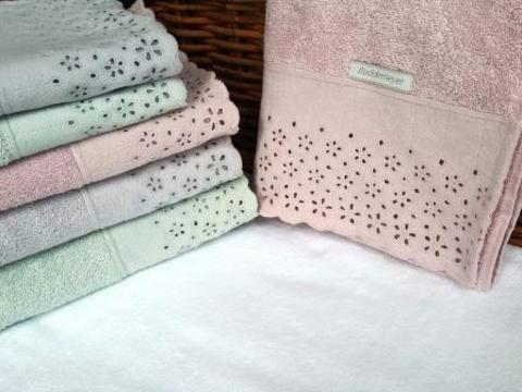Махровое полотенце с вышивкой CRYSTAL Buddemeyer 70х140